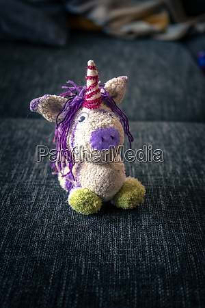 selfmade plush unicorn
