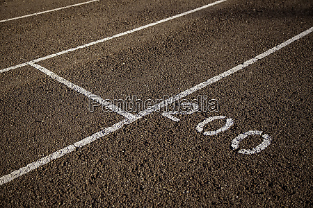 abandoned athletic tracks