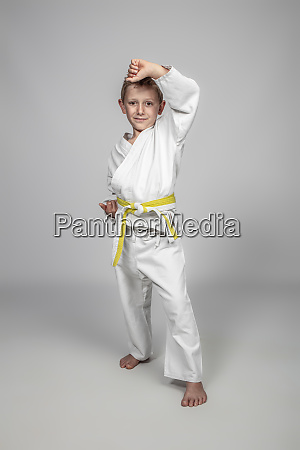 child martial arts in age uke