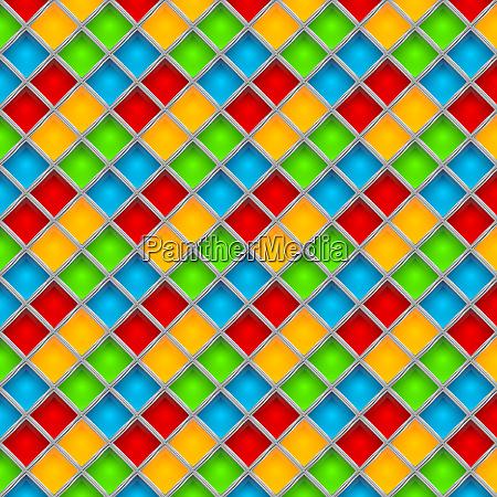 colorful mosaic background illustration