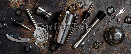bartender tools for cocktail making
