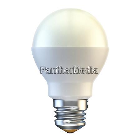 single led light bulb 3d