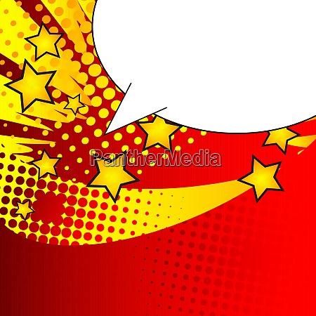 cartoon design colored social media background