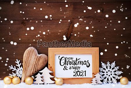 heart golden ball tree merry christmas