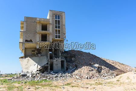 demolition of an illegally built house