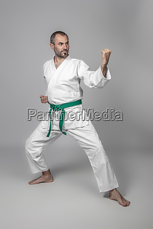 40 year old caucasian martial arts