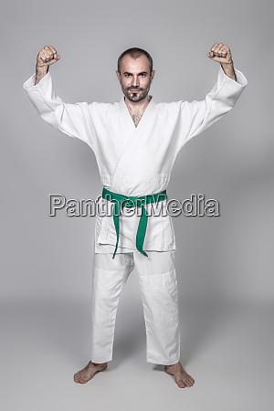 martial arts practitioner