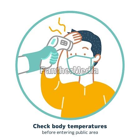 check, body, temperature, during, coronavirus, outbreak, - 28805054