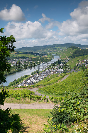 lieser close to bernkastel moselle germany