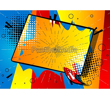 cartoon design colored background with colored
