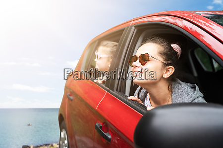 family vacation by car