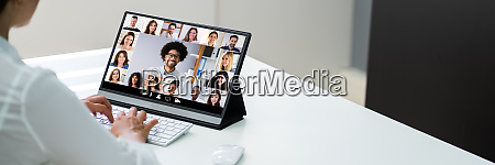 video conference elearning webinar call