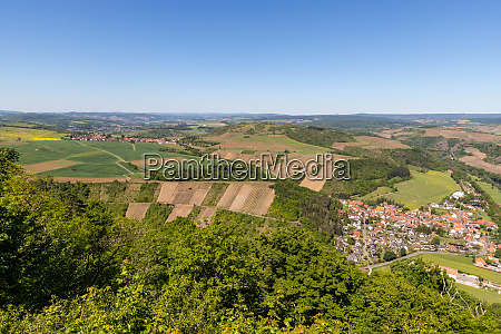 high angle view from the lemberg