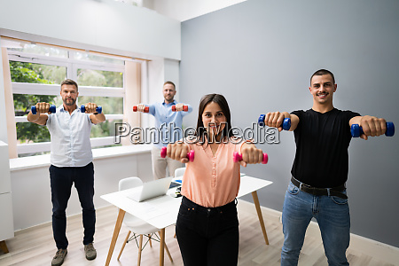 office wellness exercises