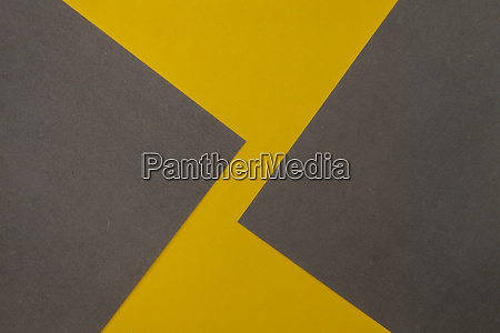 grey and yellow coloured paper background