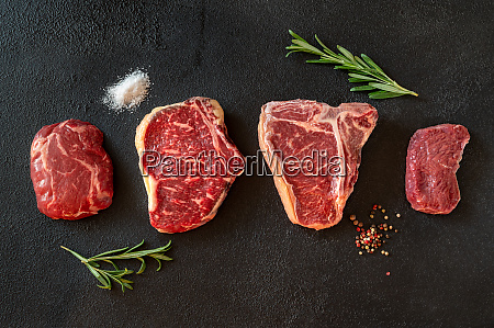 variety of beef