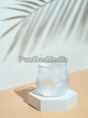 modern still life with cold water