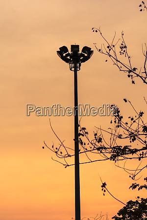 lighting column