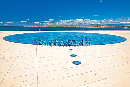 zadar famous greetings to the sun