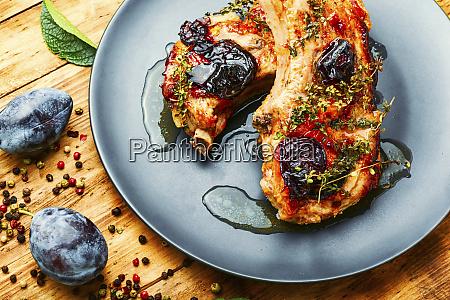 pork in plum sauce