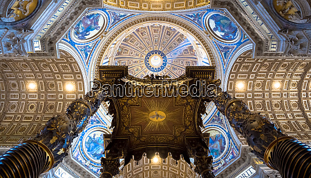 saint peter in rome cupola decoration