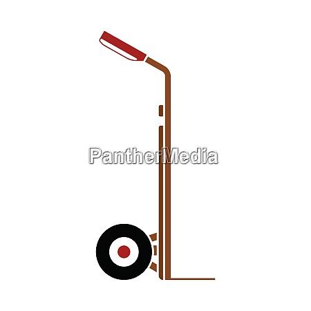 warehouse trolley icon