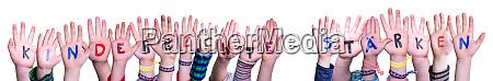 hands kinderrechte staerken means strengthen children