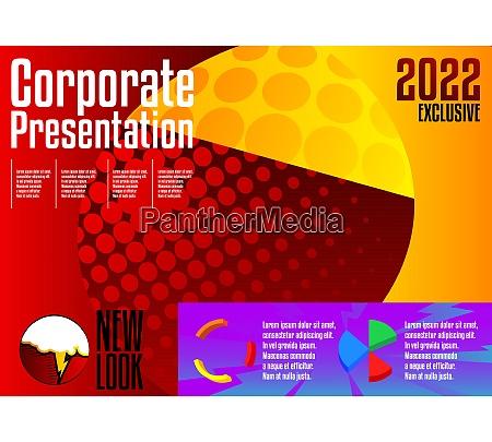 comic, book, business, presentation, template. - 28824726