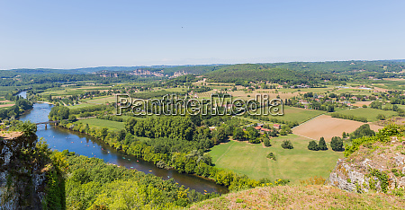 dordogne valley from domme