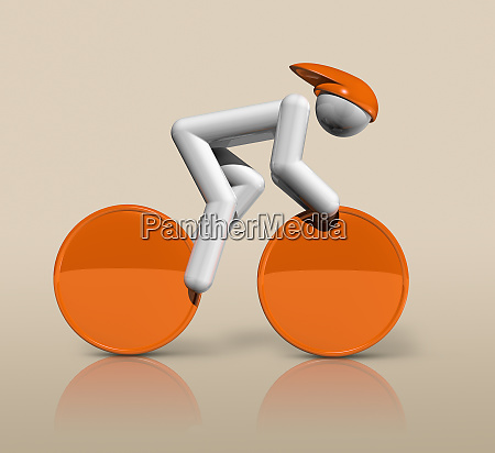 cycling track 3d icon olympic sports