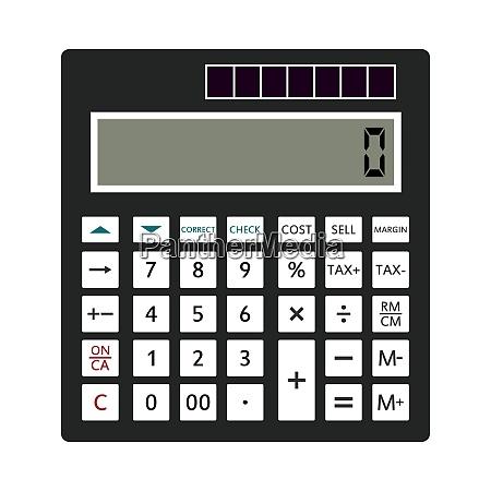 statistical calculator icon