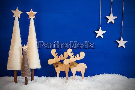 christmas tree moose snow stars copy
