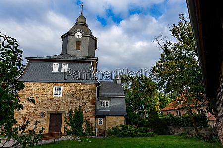 the historic church of herleshausen in