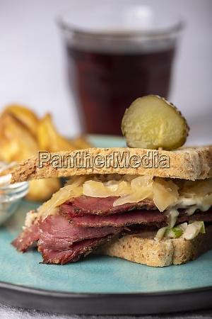 reuben, sandwich - 28829034