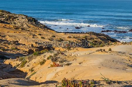 atlantic rocky coast view