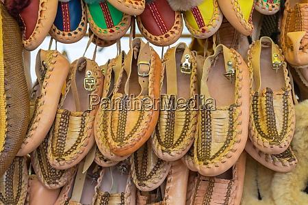 traditional peasant footwear