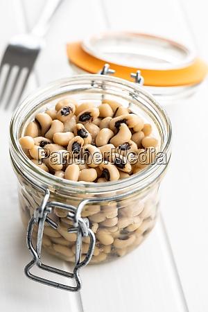 marinated black eyed beans