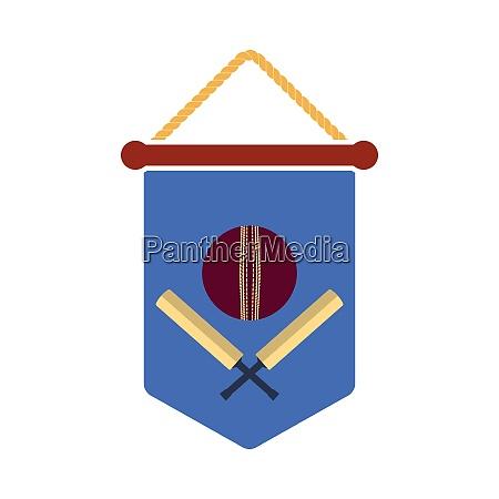 cricket shield emblem icon