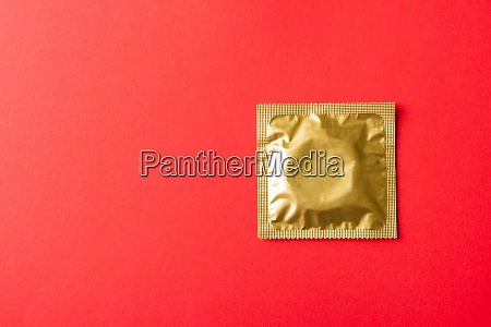 condom in wrapper pack