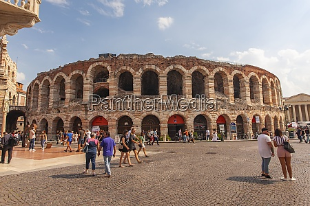 view of arena of verona in