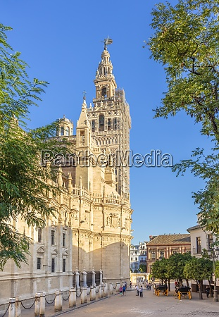 seville cathedral of saint mary of