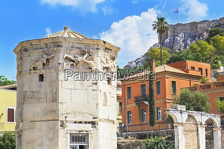 tower of winds athens greece europe