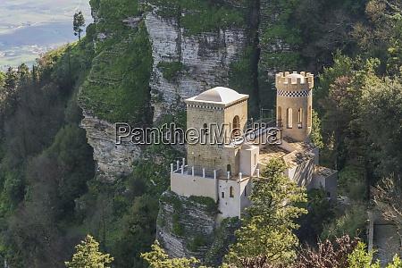 venus castle erice sicily italy europe