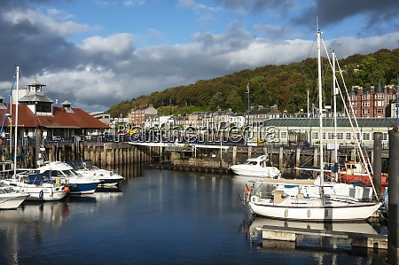 harbour area rothesay isle of bute