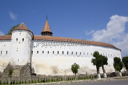 outer wall prejmer fortified church dated