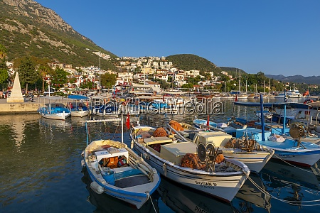 kas harbour kas antalya province turkey