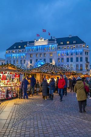 christmas market near hotel dangleterre copenhagen