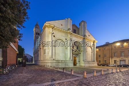 the malatesta temple rimini emilia romagna