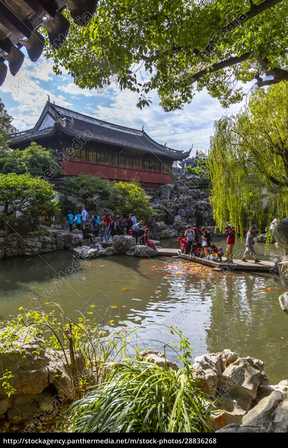 view, of, traditional, chinese, architecture, in - 28836268