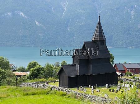 the stave church in urnes unesco